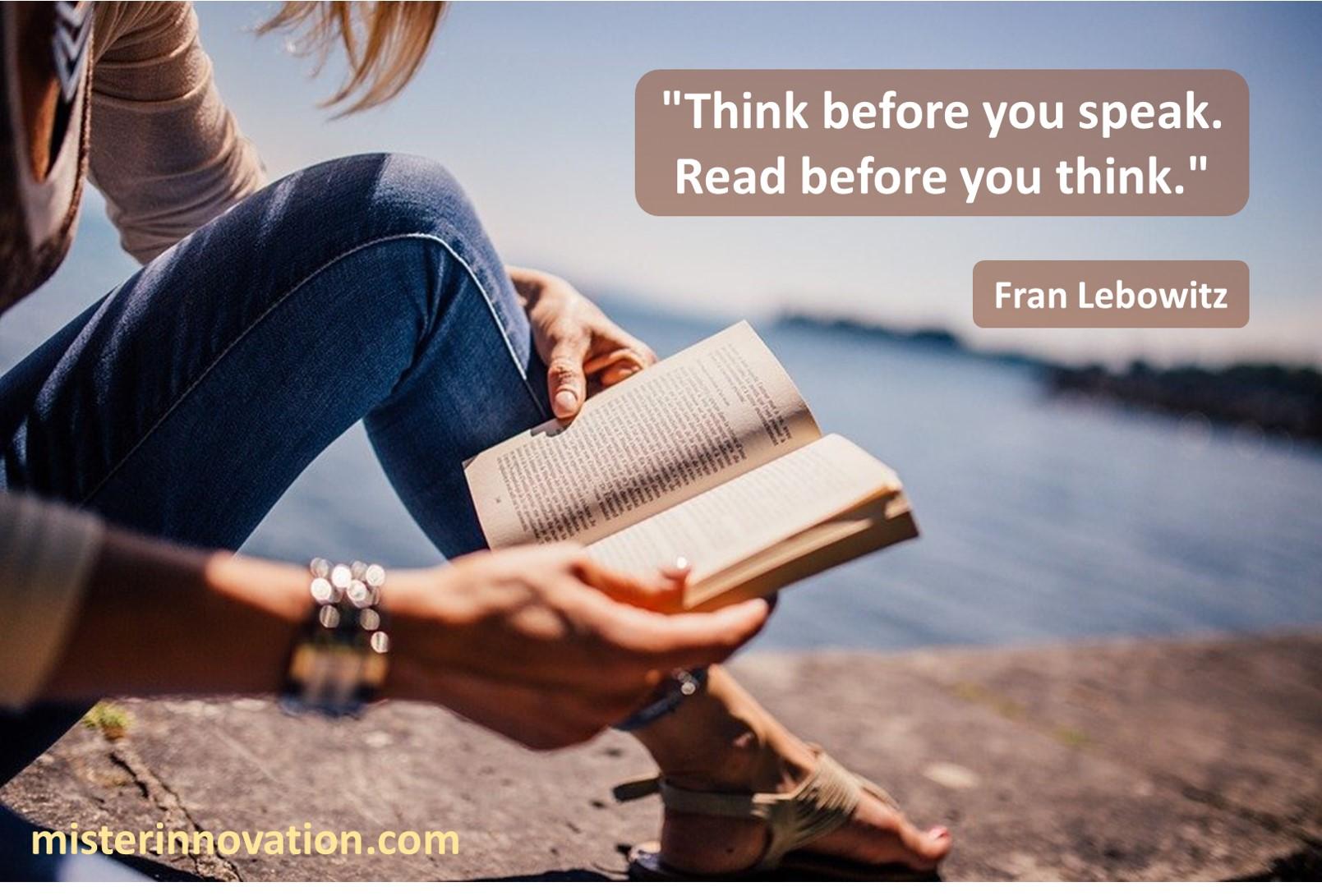 Fran Lebowitz Think Speak