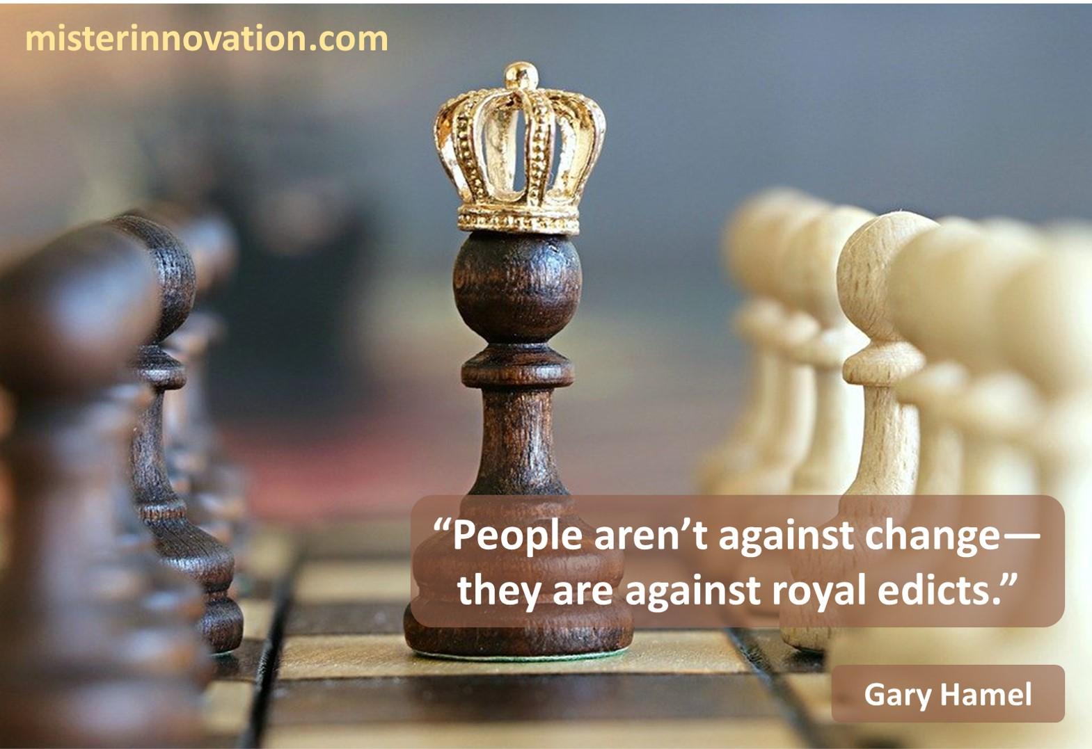 Gary Hamel Change Royal Edicts