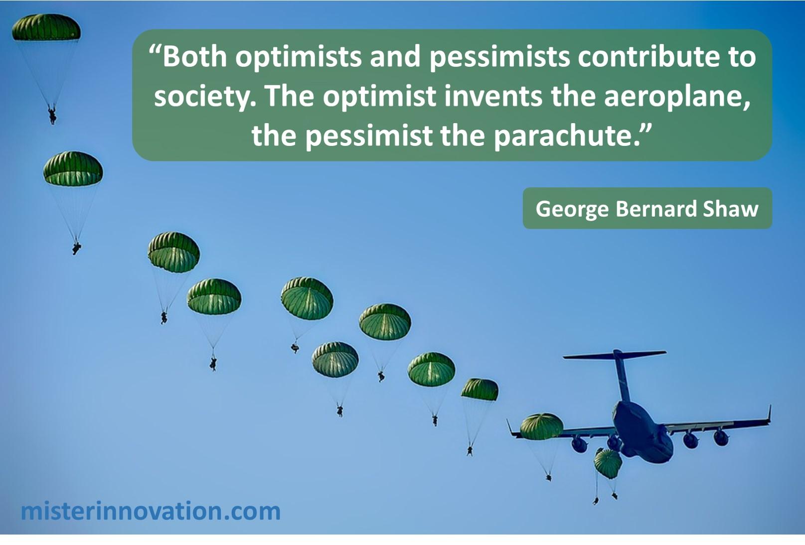 George Bernard Shaw Optimists