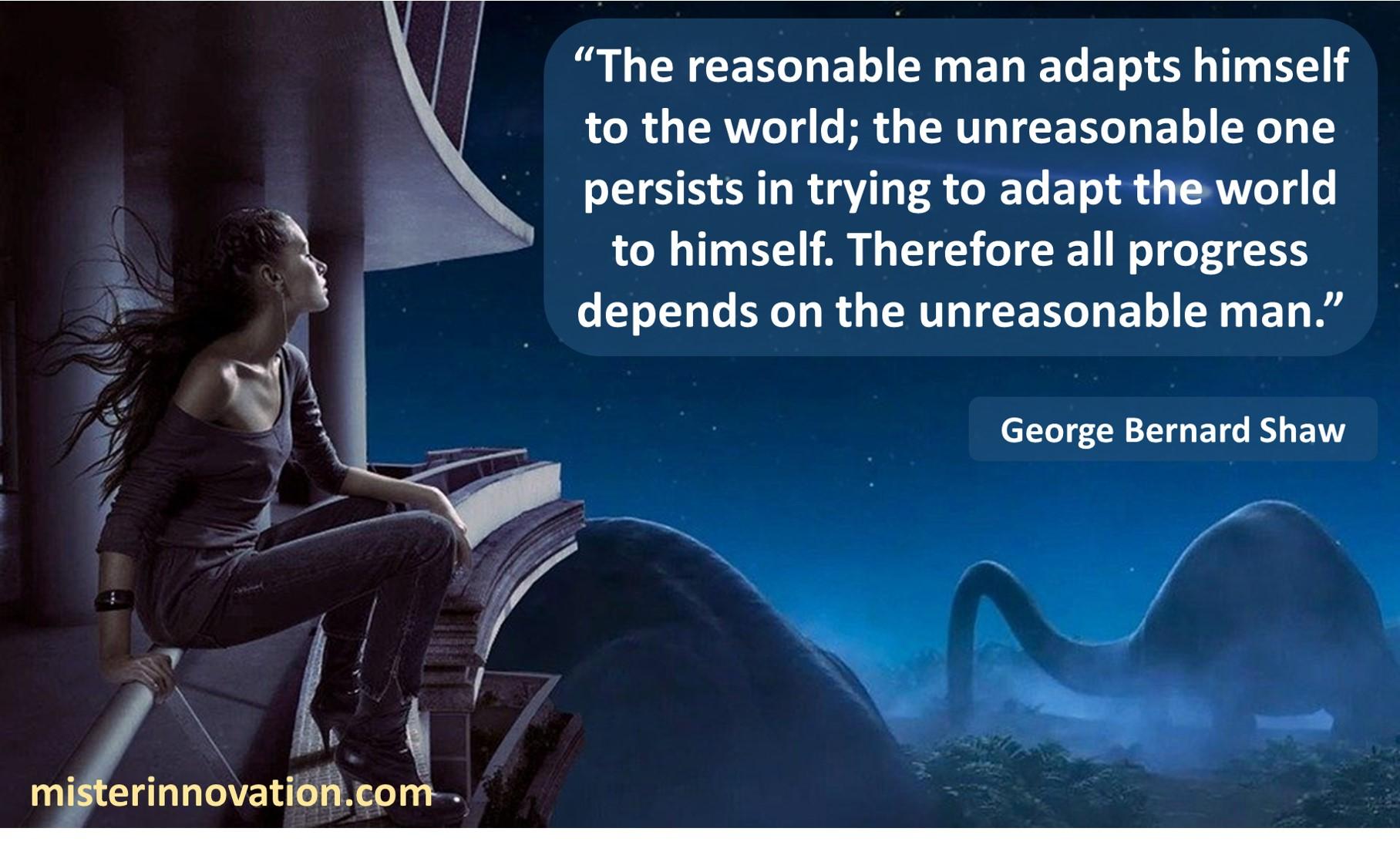 George Bernard Shaw Unreasonable