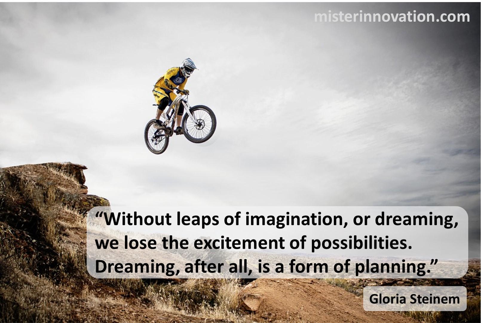 Gloria Steinem Leaps of Imagination