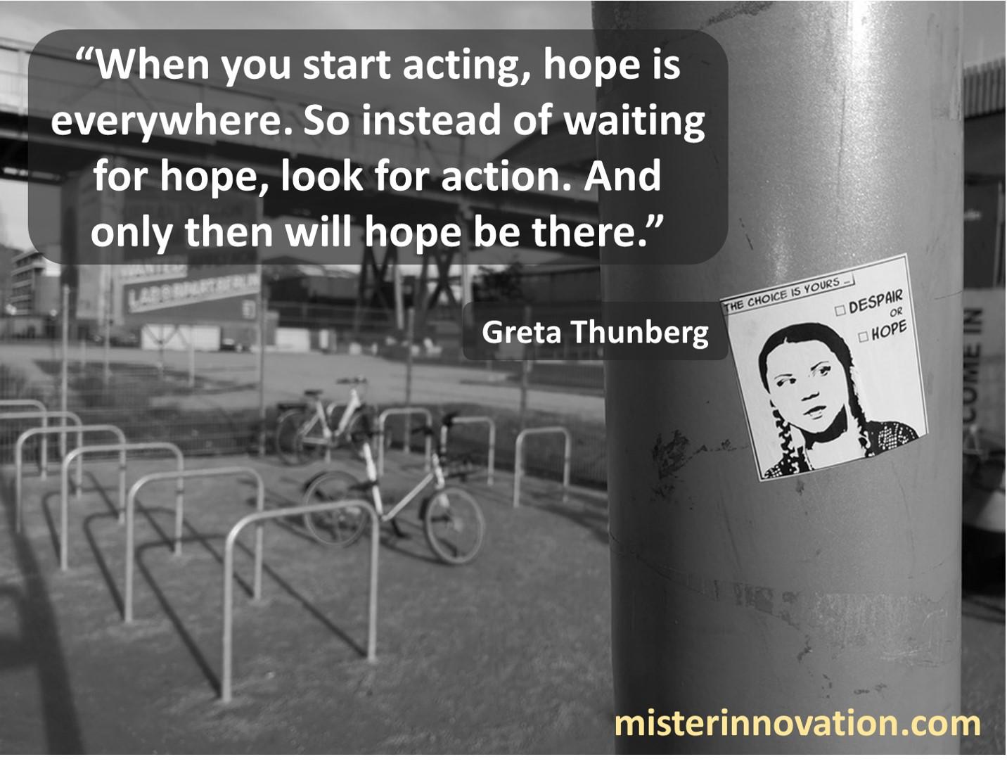 Greta Thunberg Hope