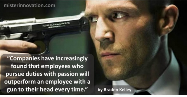 Braden Kelley Quote about Employees with Passion