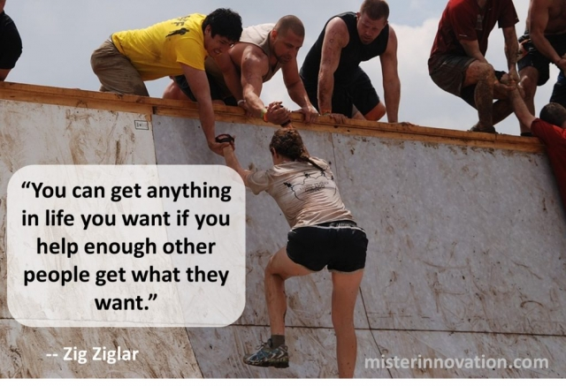 Quote from Zig Ziglar on Helping Others