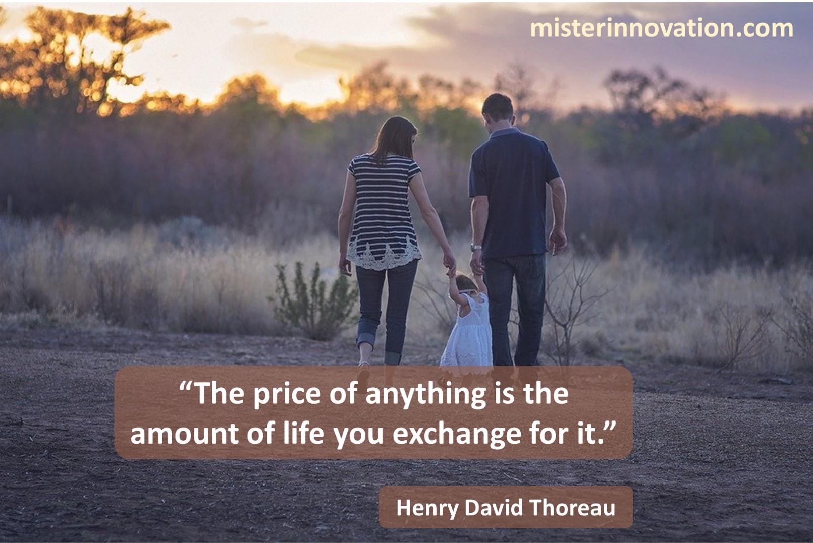 Henry David Thoreau Life Exchange