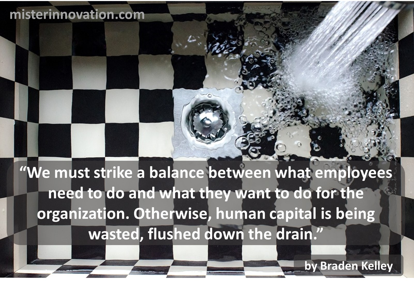 Braden Kelley quote on Human Capital Wasted