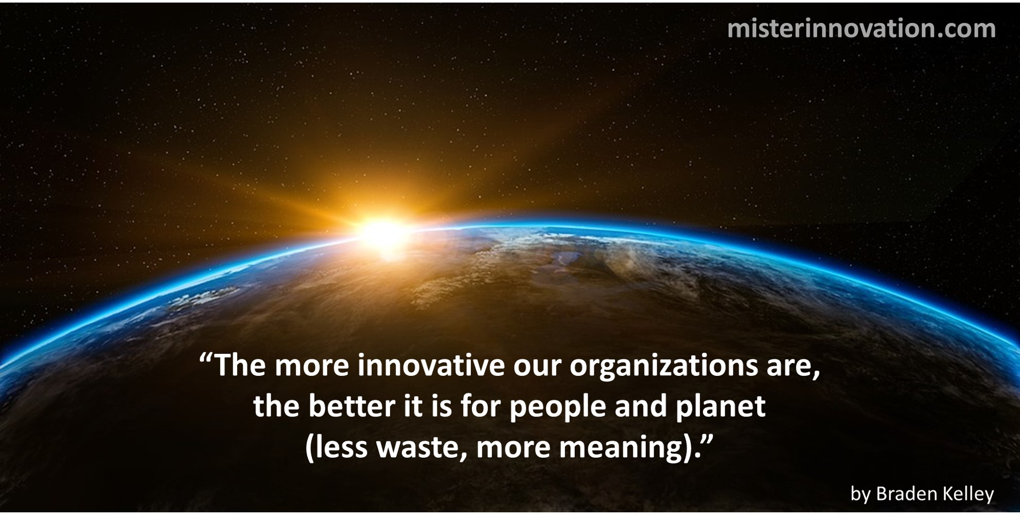Innovation Meaning and Planet