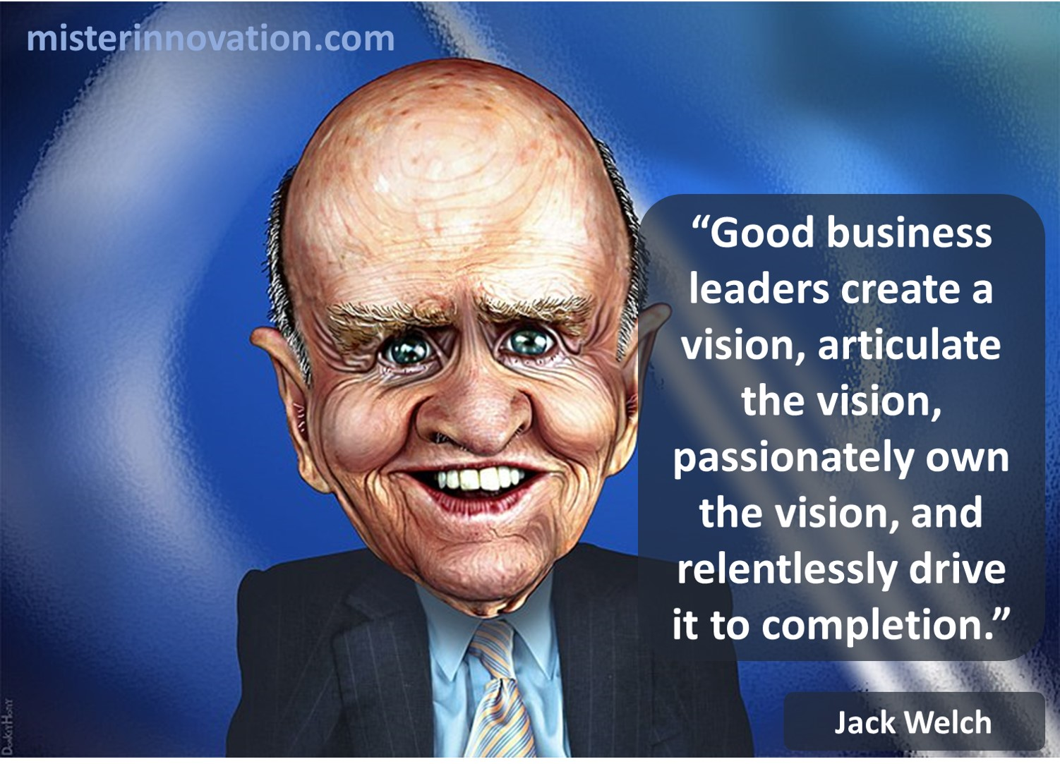 Jack Welch Quote on Leadership and Vision