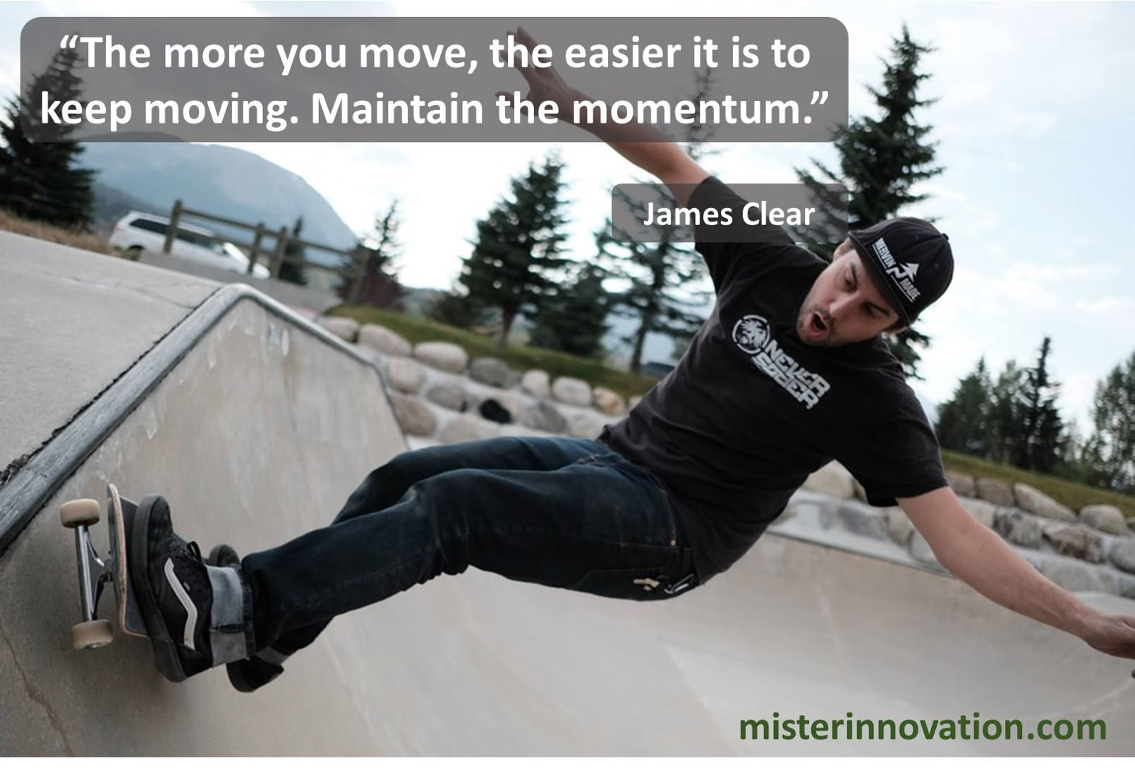 James Clear Momentum