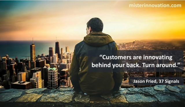 Jason Fried Quote on Customers Innovating