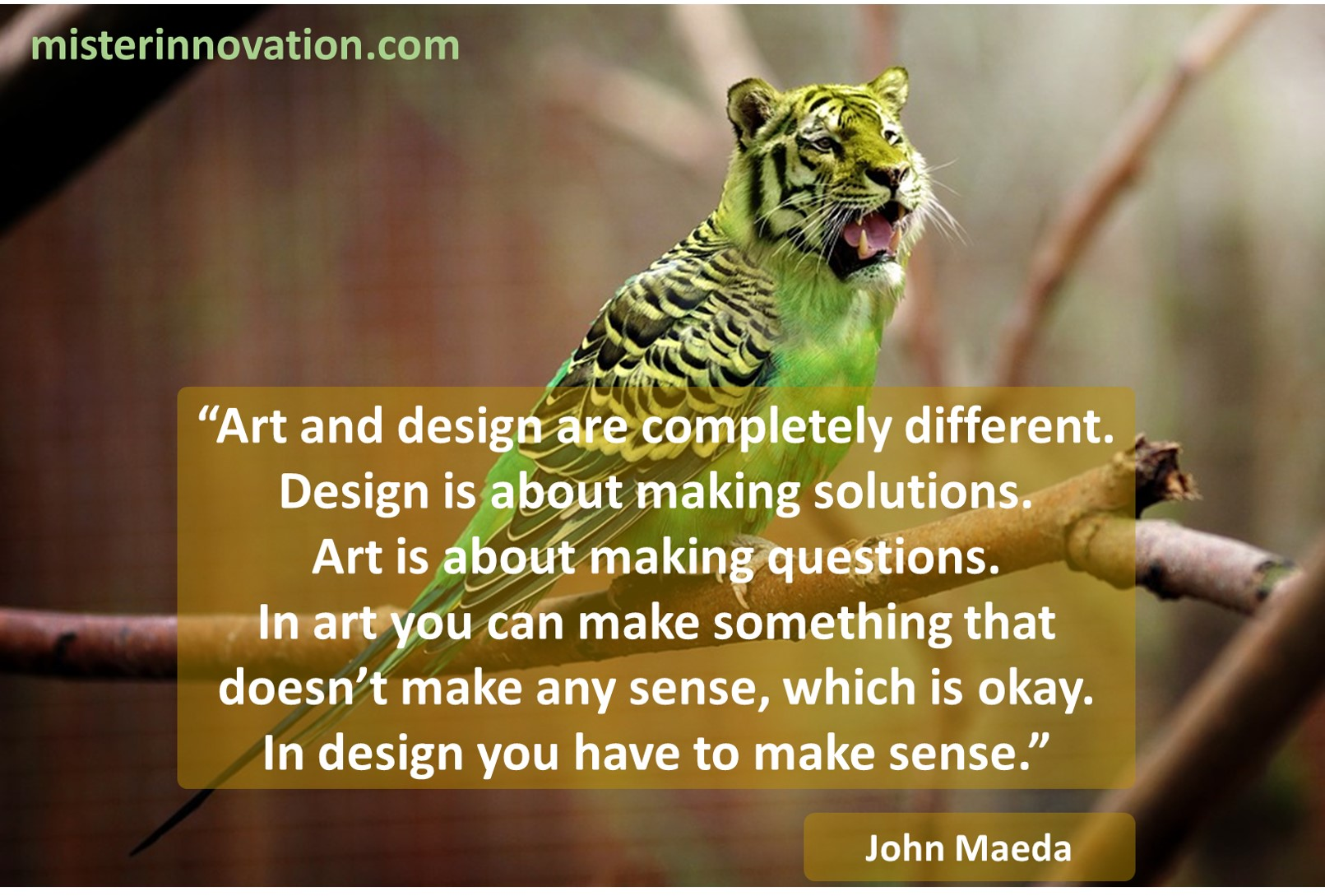 John Maeda Quote on Art and Design