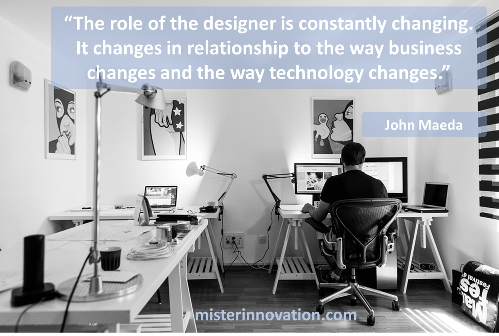 John Maeda Quote on the Changing Role of the Designer