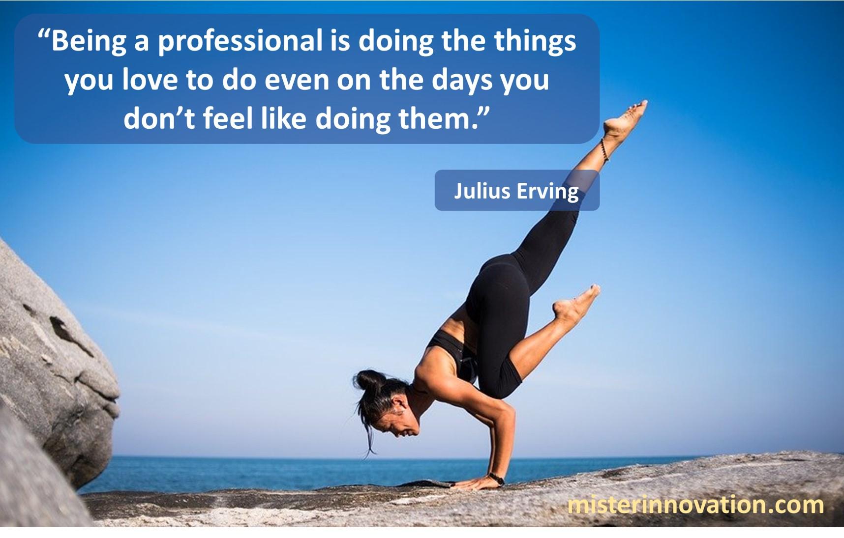 Julius Erving Professional
