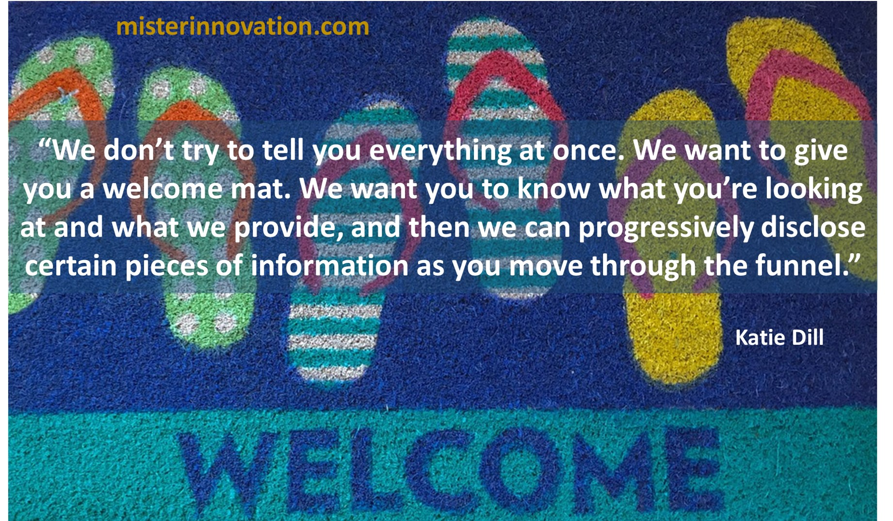 Katie Dill Quote on Design and Progressive Information Reveal