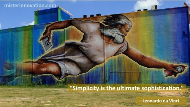 Leonardo da Vinci quote on Sophistication of Simplicity