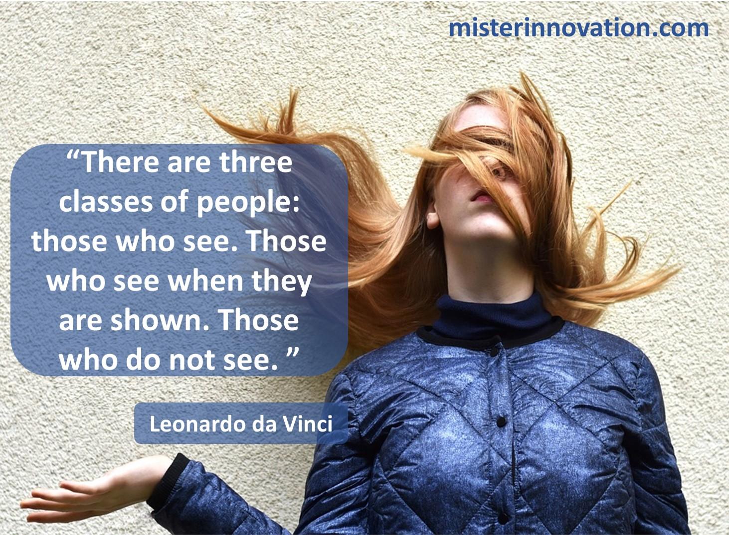 Leonardo da Vinci Three People