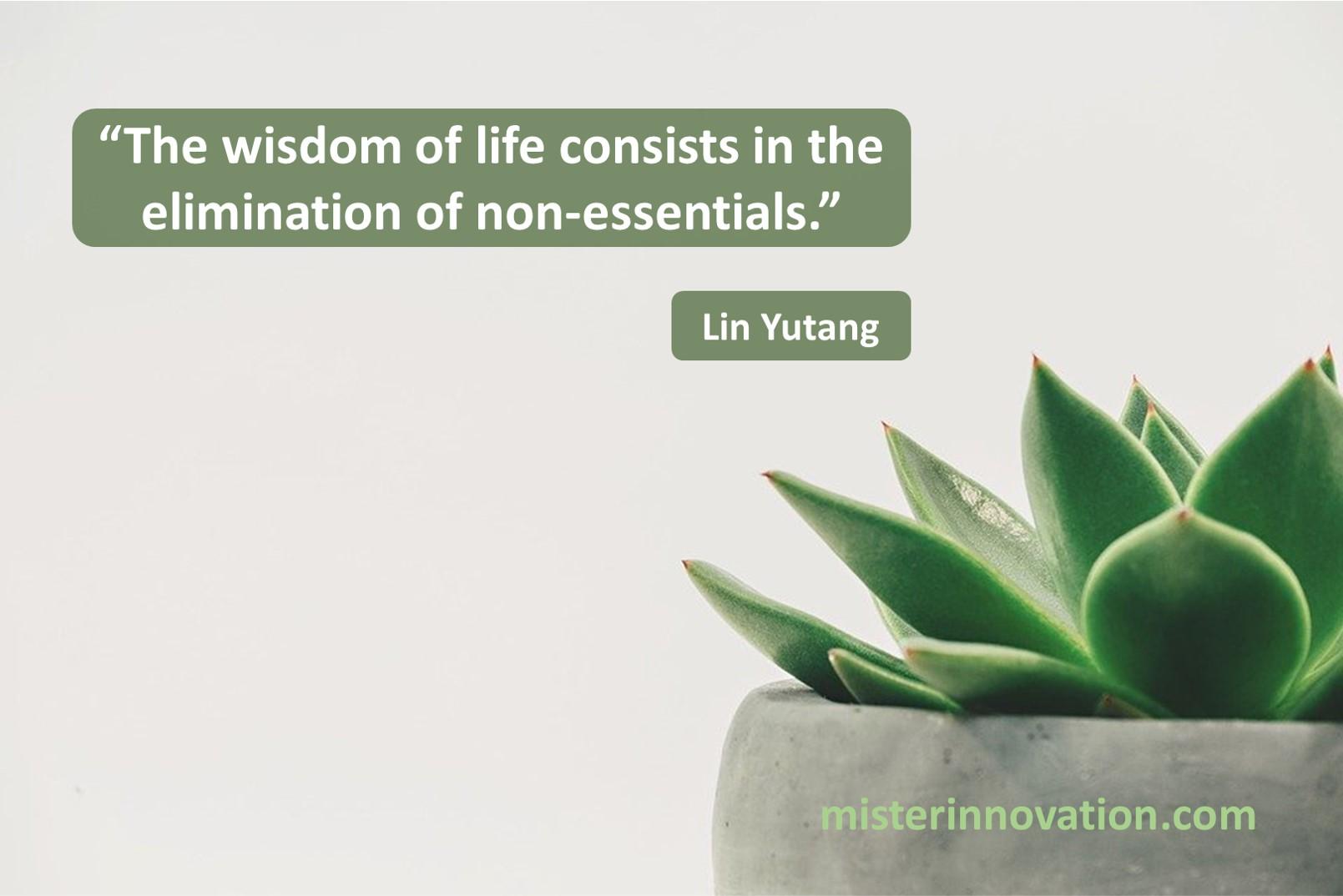 Lin Yutang Wisdom