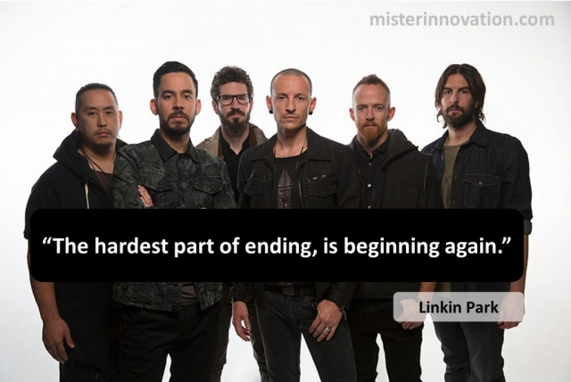 Linkin Park Lyric on Ending and Beginning