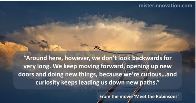 Meet the Robinsons Movie Quote About Curiosity