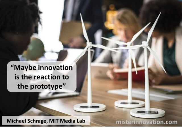 Michael Schrage Quote on Innovation and Prototypes