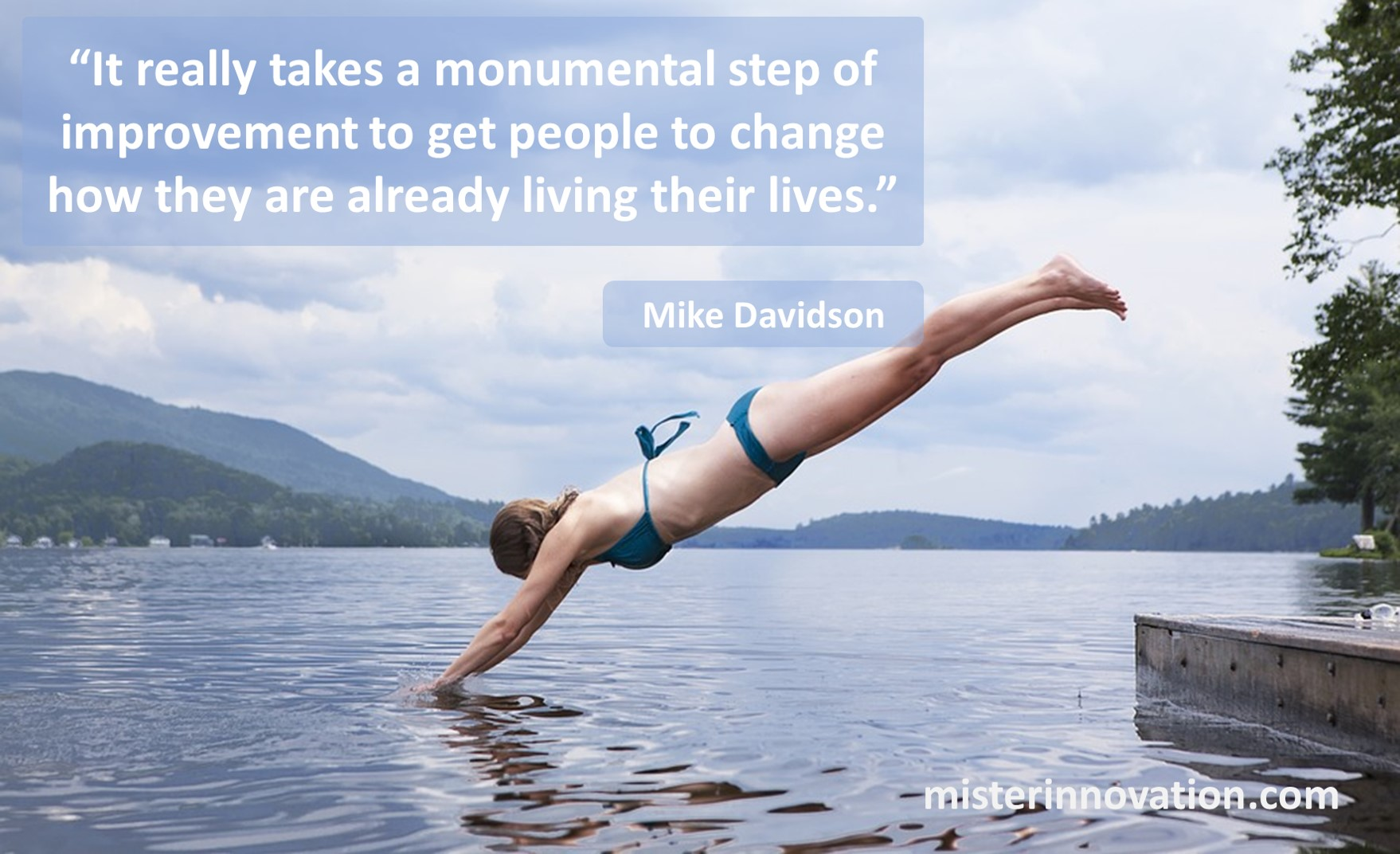 Mike Davidson Quote on Improvement and Change