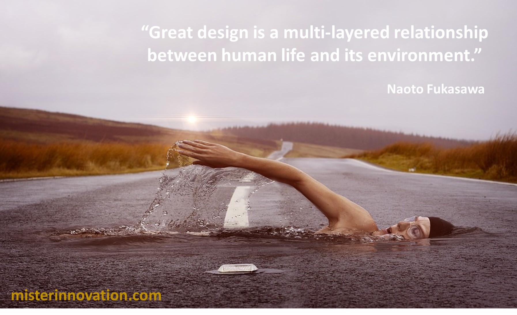 Naoto Fukasawa Quote on Great Design and the Human Environment