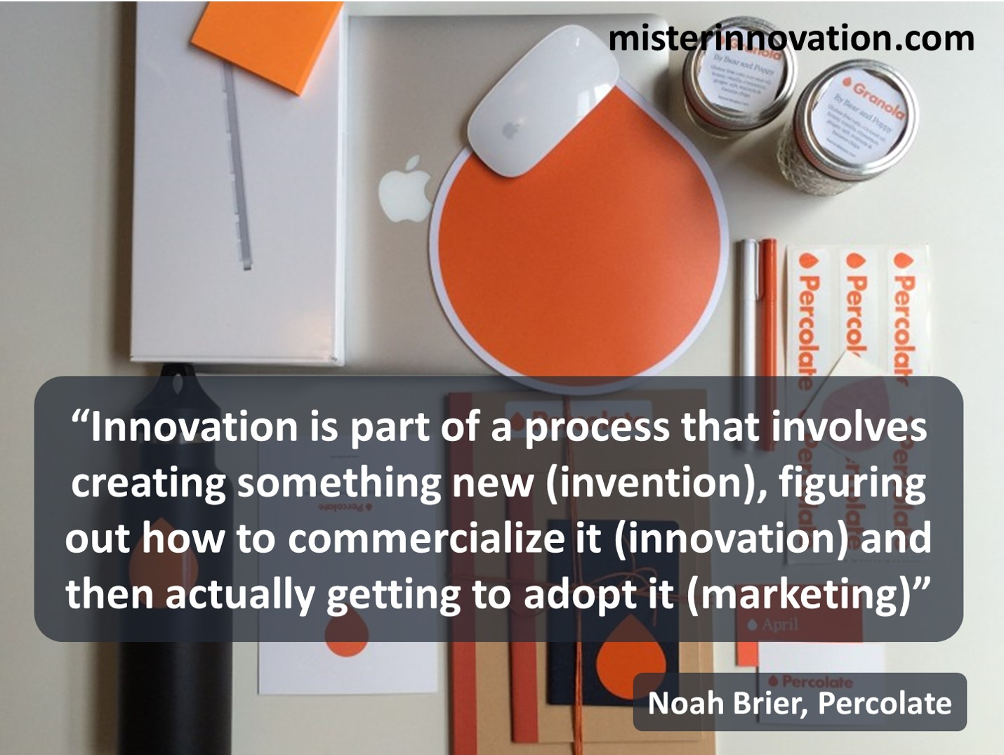 Innovation Definition from Noah Brier