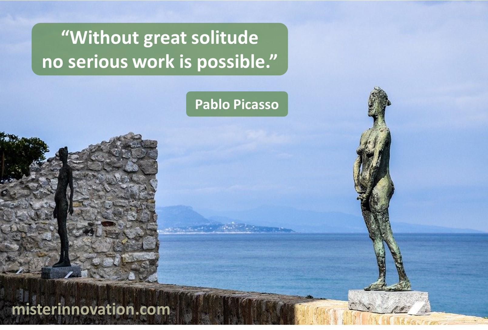 Pablo Picasso Solitude