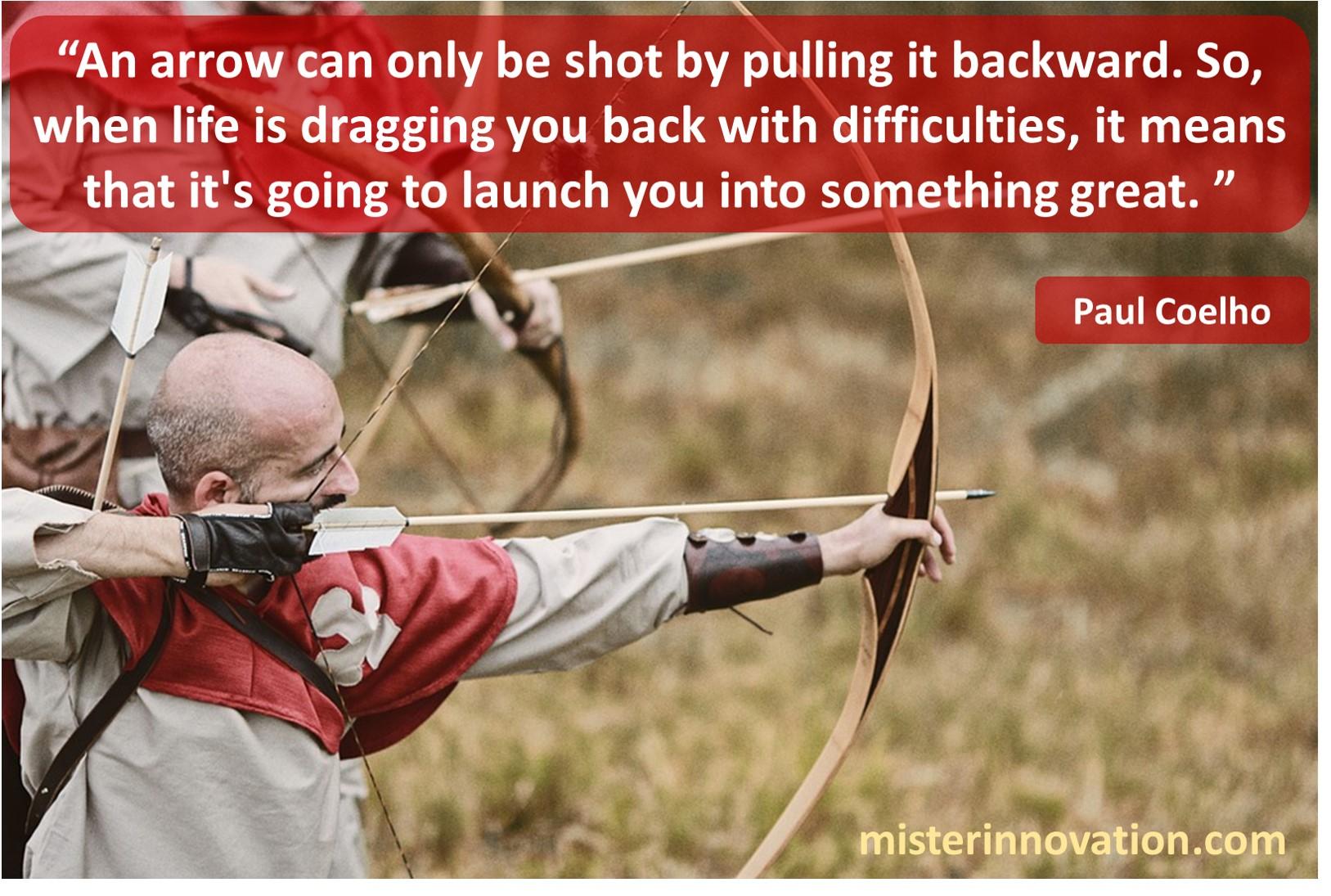 Paul Coelho Arrow