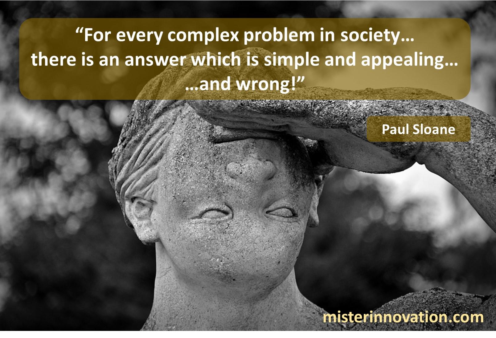 Paul Sloane Complex Problems