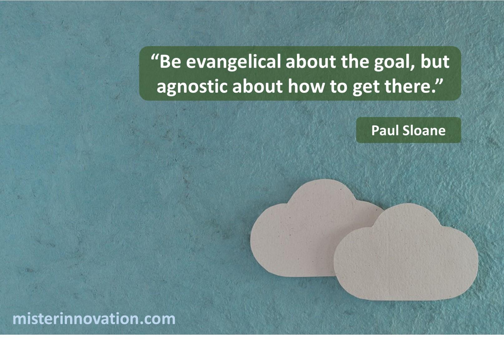 Paul Sloane Evangelical