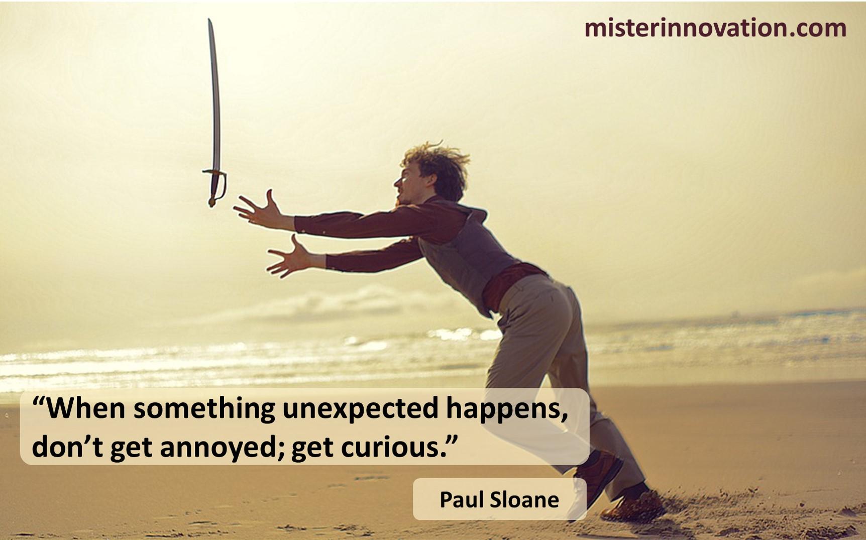 Paul Sloane Unexpected