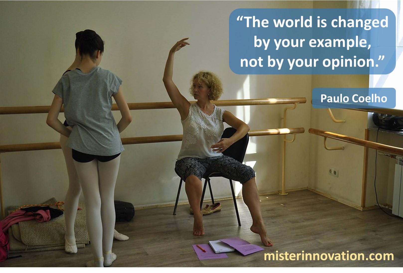 Paulo Coelho World Change