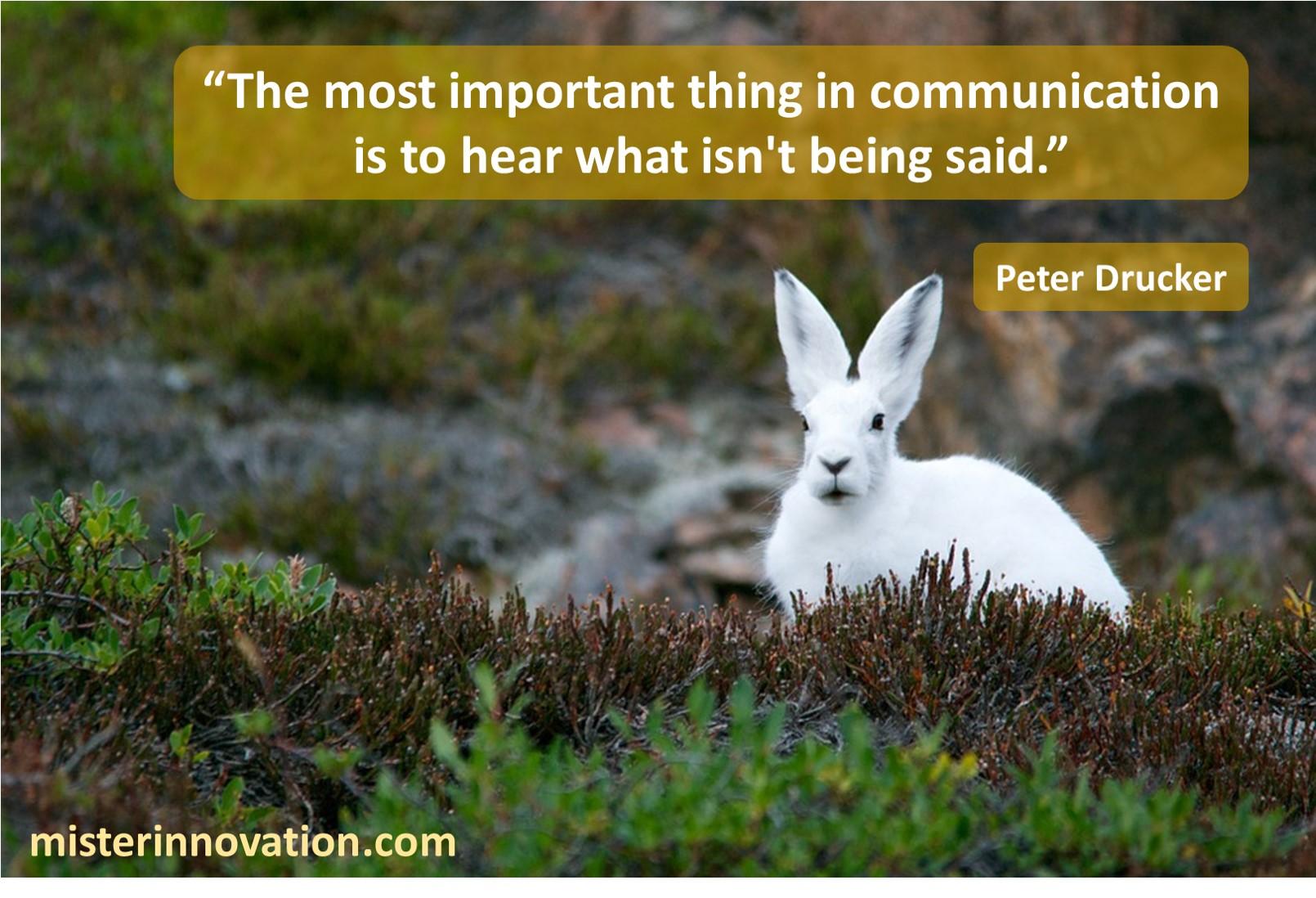 Peter Drucker Communication