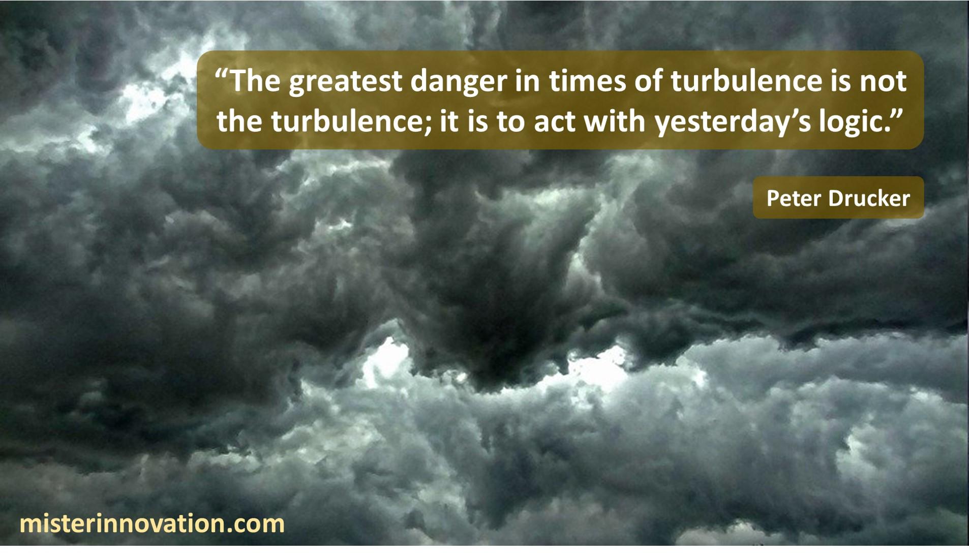 Peter Drucker Turbulence