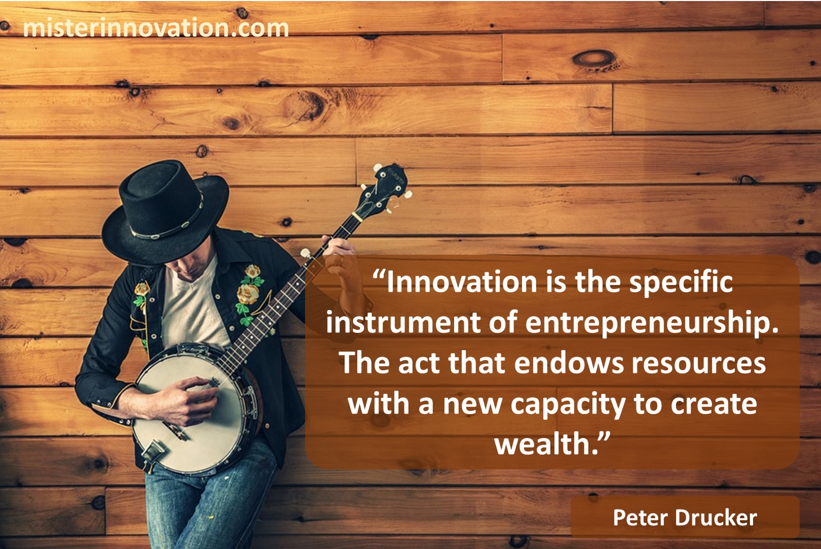 Peter Drucker Quote on Innovation Entrepreneurship and Wealth Creation