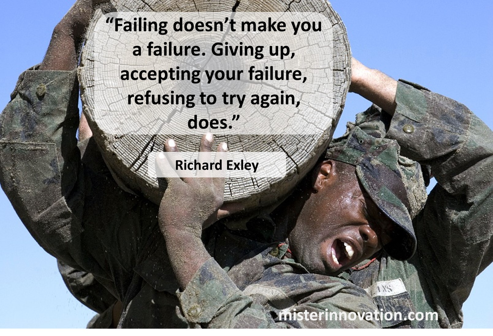 Richard Exley Quote on Failure