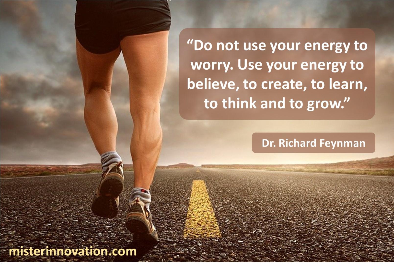 Richard Feynman Energy