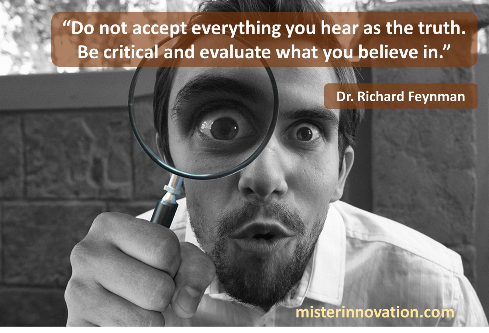 Richard Feynman Truth