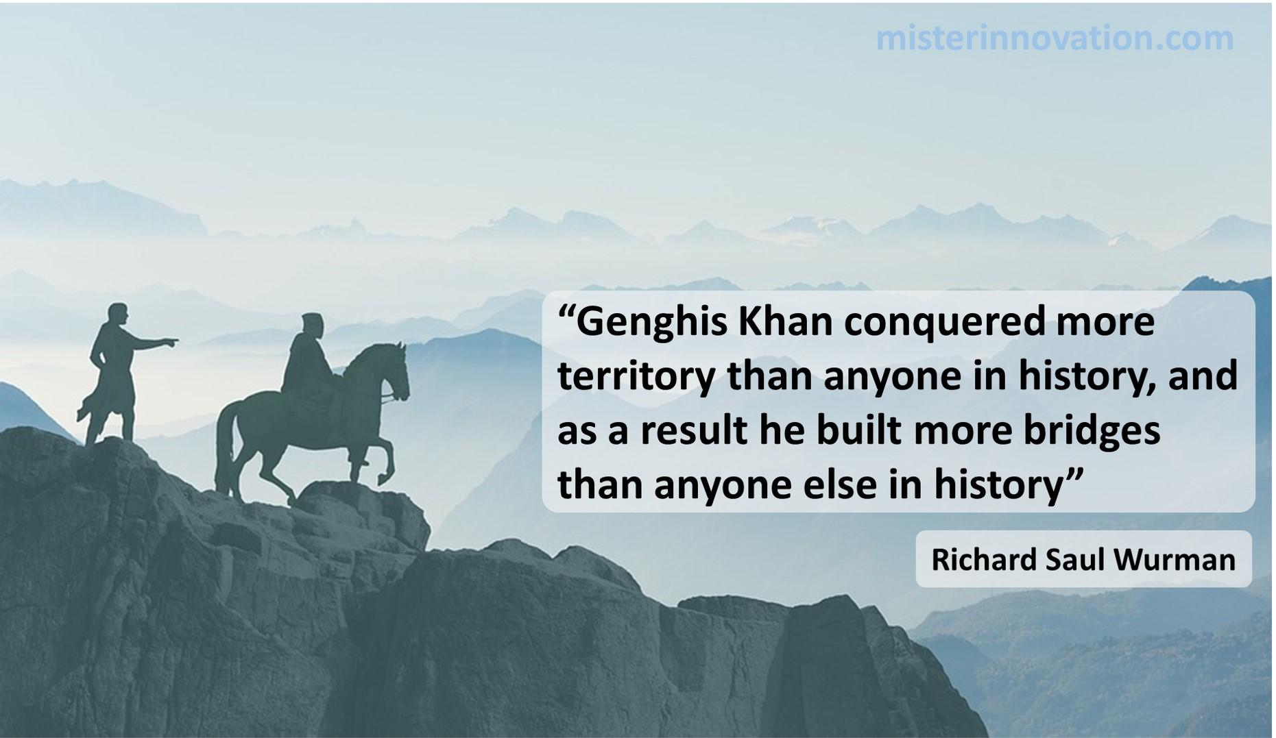 Richard Saul Wurman Genghis Khan