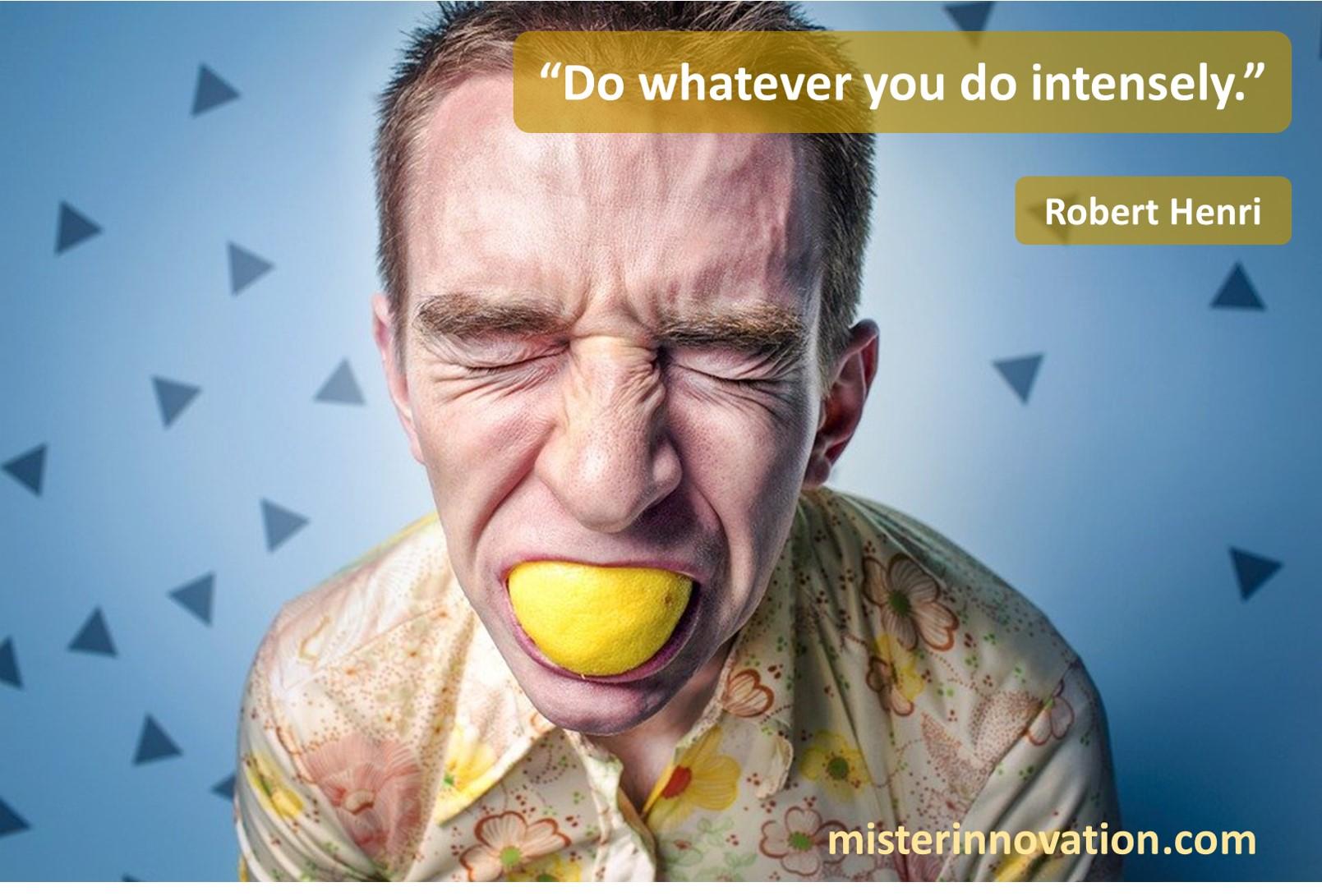Robert Henri Intensity