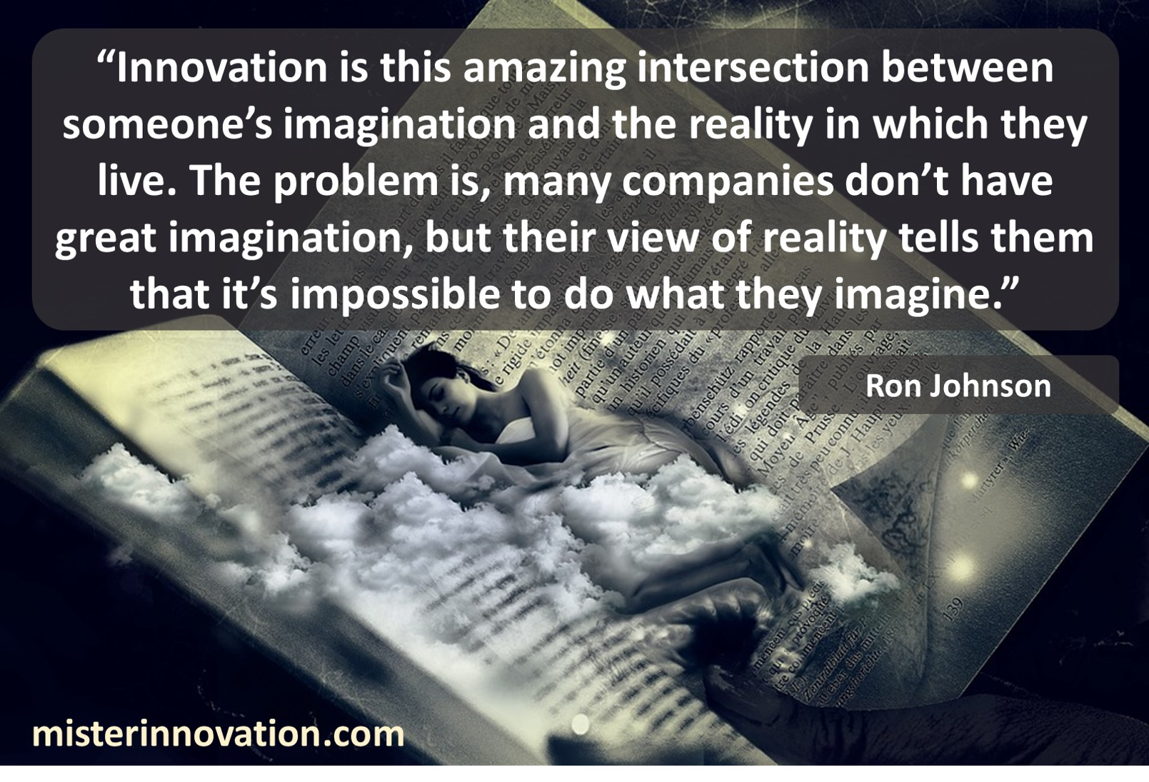 Ron Johnson Quote on Innovation Imagination and Impossibilities
