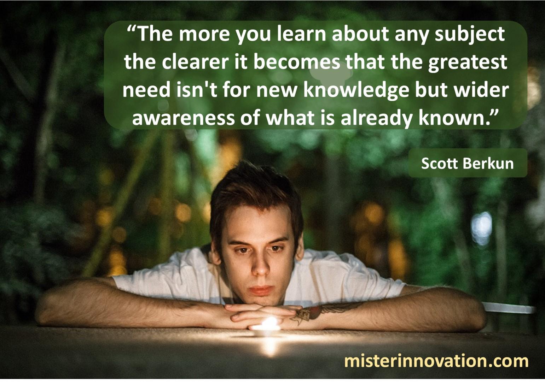 Scott Berkun Awareness