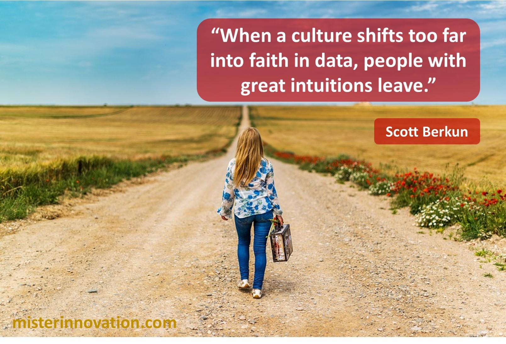 Scott Berkun Data Culture