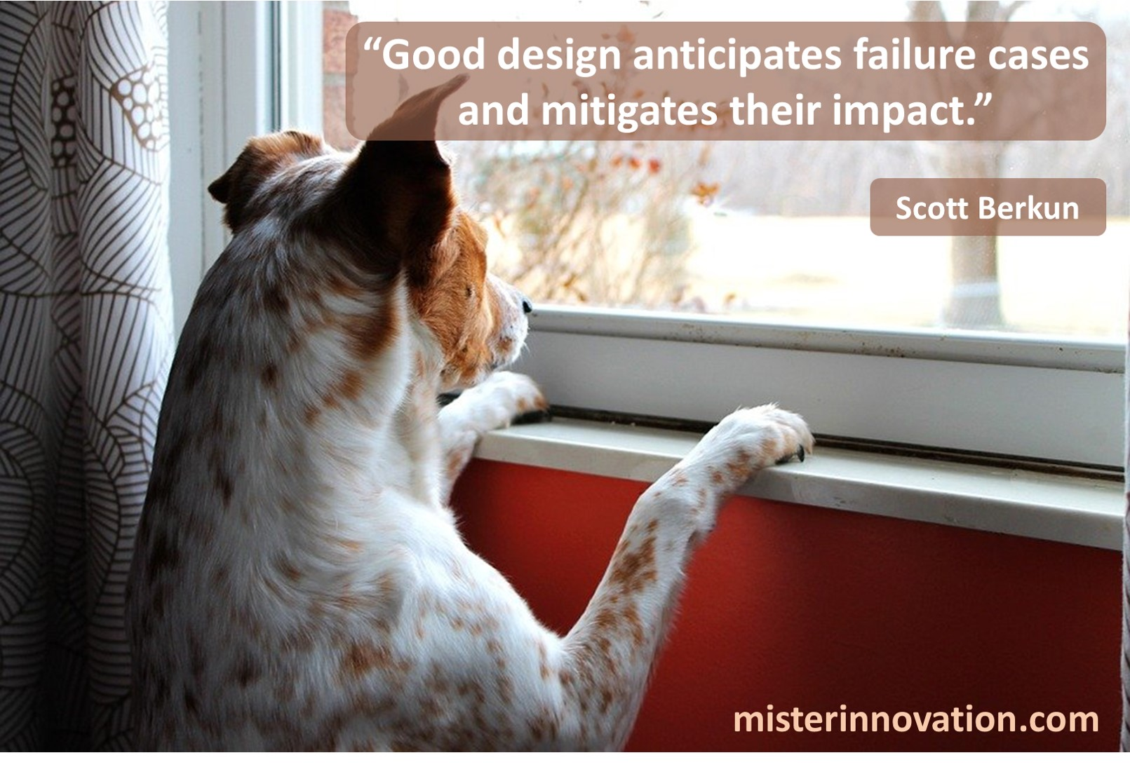 Scott Berkun Design Mitigates Failure