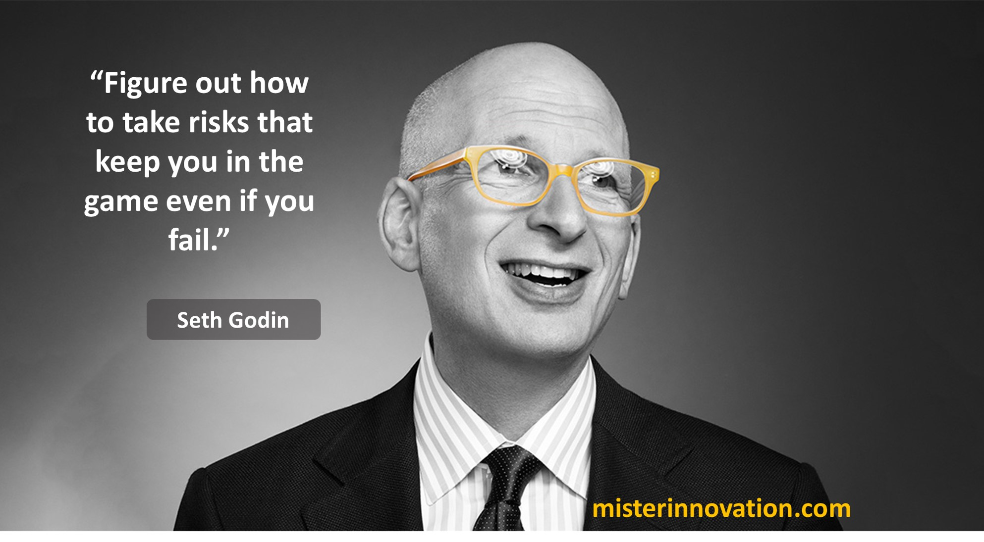 Seth Godin Quote on Taking Risks