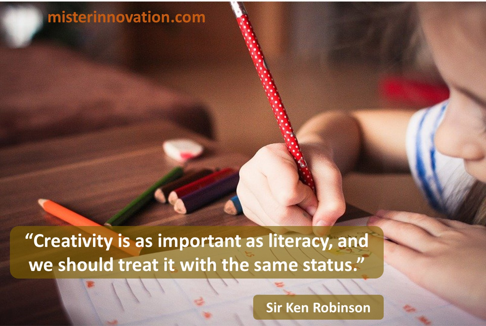 Sir Ken Robinson Creativity Literacy
