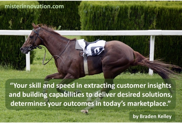 Braden Kelley quote on Skill and Speed with Innovation Insight