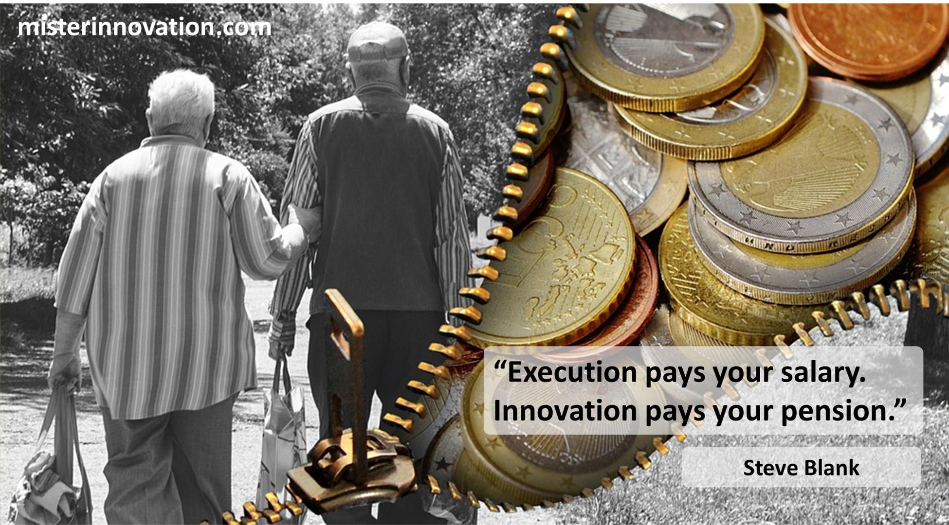 Steve Blank Innovation Pension