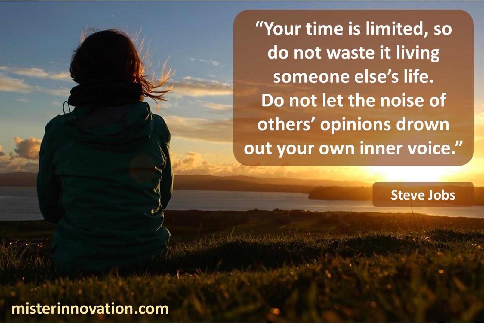 Steve Jobs Inner Voice